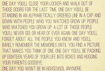 **senior year**