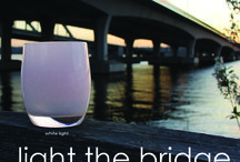#lightthebridge / http://lightthebridge.glassybaby.com/ / by glassybaby