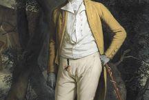 18th century: Portraits of men