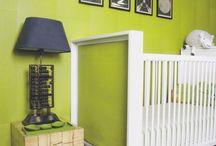 zielony pokój niemowlaka | green nursery