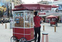 Török ételek - Turkish food / Isztambulban járva rengeteg új ízt kóstolhatunk. Itt néhány kedvenc török ételünket tesszük közzé.