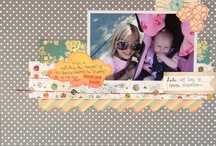 "You Are My Sunshine Kit - Scrapbook Circle  / Design Team layouts using the August 2011 kit, ""You Are My Sunshine""  / by Scrapbook Circle"