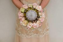 Proteas wedding bouquet