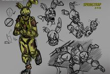 Let's Draw! - FNaF Characters
