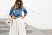 Brunch Midi Skirts