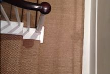 Sisal Carpet To Hall, Stairs & Landings / Client: Private Residence In West London. Brief: To supply & install sisal carpet to stairs, hallway & landings.