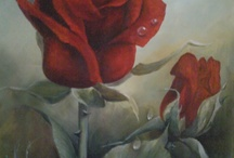 My paintings / Met acrylverf schilderen