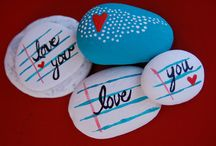 Painted Stones / Art of the paint the stones love them!!