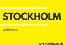 STOCKHOLM / Fun tips, tricks and trips should you find yourself in the Swedish capital of Stockholm. Would you like your next trip abroad to be a complete surprise? Find out more about our latest project at http://surprisetrips.co.uk/