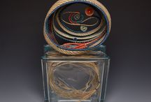 Pine Needle Creations by Sheri / Baskets, vessels, and sculptural pieces made from pine needles.