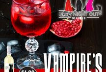 Ghouls' Night Out / Double double, toil and trouble, something wicked this way comes!  Stay tuned this week for new Halloween-themed posts and recipes perfect for making your Ghouls' Night Out a howl.    Happy Halloween from Girls' Night Out Wines!