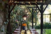 Terasa, záhradný dom, okolie domu a záhrady / ako vytvoriť pohodu v okolí domu a záhray
