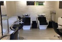 Ayala Salon Ideas / Hairdresser salon design.