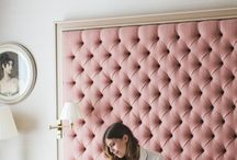 Headboard Ideas / Find a selection of beautifully designed headboards which we are able to take inspiration from in order to create our very own bespoke bedroom headboards. Something we love to design and create here in our UK workshop.