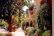 Niagara-on-the-Lake / This is the beautiful town I am lucky enough to live in. Niagara-on-the-Lake, Ontario, Canada