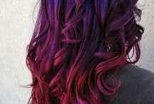 Hair color ideas ( pink, purple, blue, green )