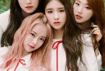 loona / heejin, hyunjin, haseul, yeojin, vivi, kim lip, tinsoul, choerry, yves, chuu, go won and olivia hye || debut: - || bias: -