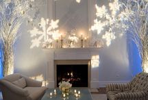 Winter Holiday Party Lighting Inspiration
