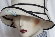 d - summer hat, summer hats, sun sea holidays travel / summer hat to order, sea wind, sand white and night navy linen, ceremony evening city woman hat, sun festival country and sea holidays