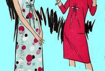 Vintage kjolemønster
