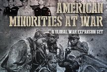 Global War 1936 Expansion - Minorities at War / HBG is excited to present American Minorities at War (AMI) – a Global War expansion celebrating the often-unrecognized contribution of American Minorities to the Allied victory in World War II.