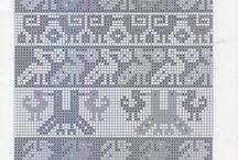 Needle&thread.Tapestry crochet
