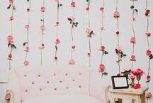 Backdrops para Casamentos / Tendências, ideias e inspirações para cenários (backdrop, parede de fundo) para as fotografias nos casamentos.