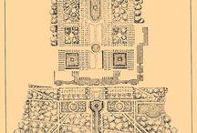 Старинные планы садов