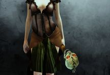 3D Fantasy & Dark Characters / My Editions With ePic Character Generator & Photoshop
