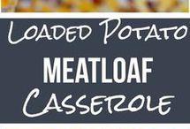 cassaroles, ground beef