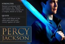 Percy Jackson & the Olympians / We Make Our Own Destinies.