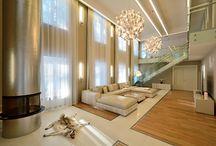living room in summer house (Saint-Petersburg)