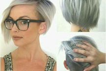 Short hair undercut