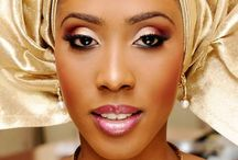 Wedding Makeup Lookbook / Wedding makeup lookbook for the bride of colour.