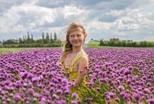 Portrait in chives fields!