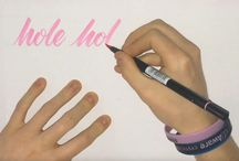 calligraphie hand lettering