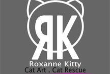 = ^ . . ^ = Roxanne Kitty - Drawings