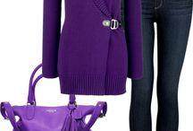 Just purple.