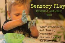 Kids- Sensory Play & Fine Motor Skills / by Lindsey Z.