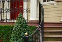 Wrought iron railings / by Anne Woods