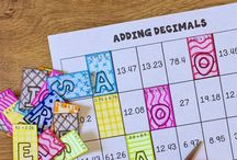 Coloring in Math / Coloring Page Resources for Math Class, grades 4, 5, 6, 7, 8
