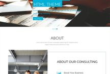 Bootstrap Templates / Collection of selected beautiful standard bootstrap templates.