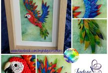 Original artwork / Stunning creations by out artisans. Have a stroll through and then check out the beautiful items available for sale in the album over at our facebook page :)