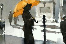 Guarda-chuvas / Sombrinhas