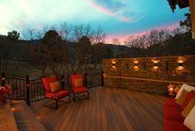 Colorado Springs / Custom designs by Colorado Custom Decks & Mosaic Outdoor Living & Landscapes. http://coloradodecks.com/