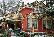 Victorian Houses & interior, exterior