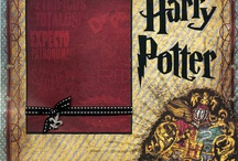 Scrapbooking Layout Pages Harry Potter / by Kim Vovillia