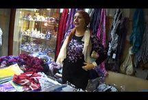палантины шарфы шали