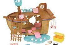 Sylvanian Families Statek na Wyspie Przygód / Wyjątkowe zabawki dla dzieci marki Sylvanian Families