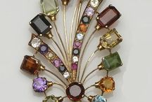 Brooch ~ Stones  Colored ~*~